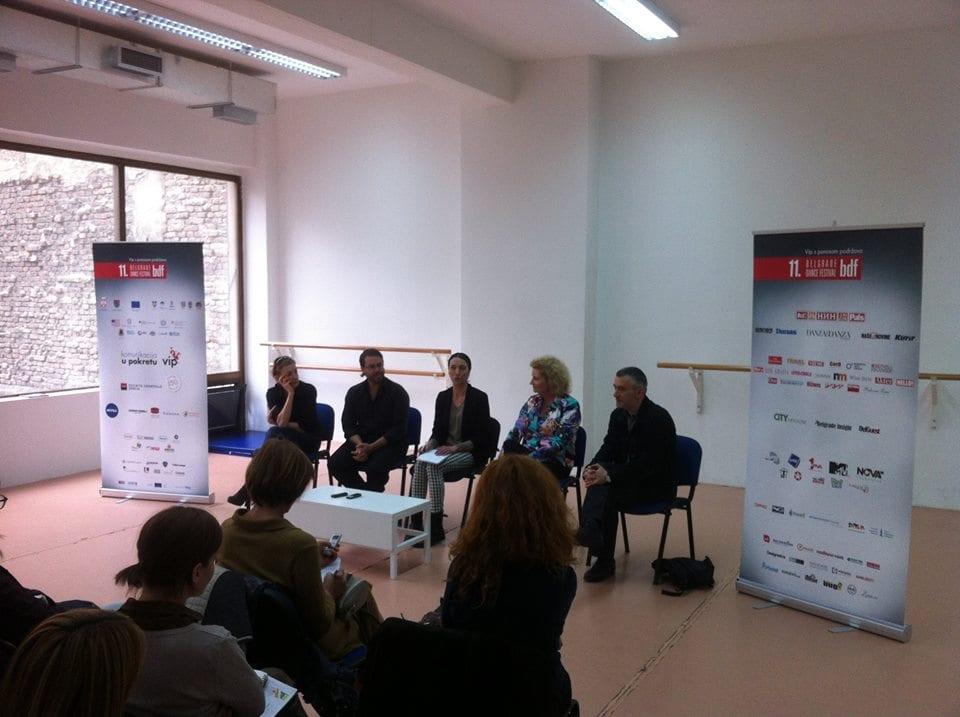 Belgrade press conference